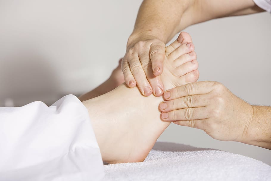 Finding quick relief options for sore feet